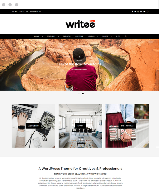 Free & Premium WordPress Blog themes 2019 by Scissor Themes